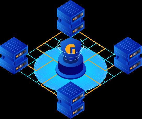 stylized server array