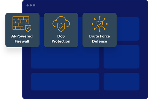 ai-powered firewall - DoS protection - brute force defense